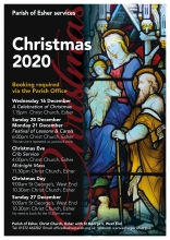 Parish of Esher Christmas 2020
