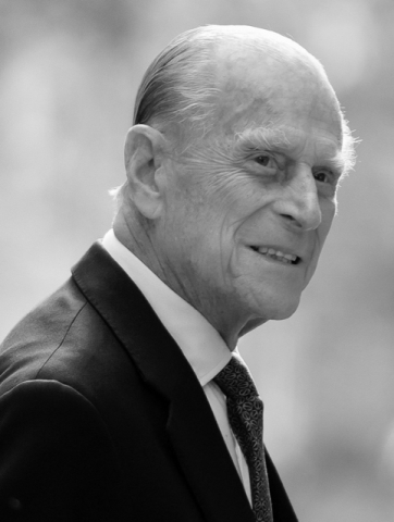 HRH Prince Philip. Photo courtesy of Diocese of Guildford.